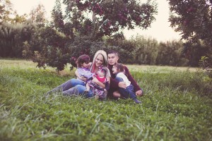 Amy Cook, Owner of Amy Cook Photography, family portrait