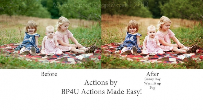 Photo Actions Before and After